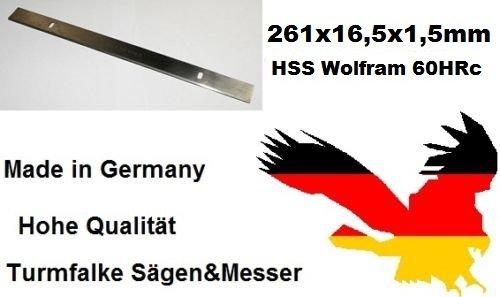 Preisvergleich Produktbild 2 Stück Scheppach HMS 1070 Abricht-Dickenhobel 261mm Hobelmesser