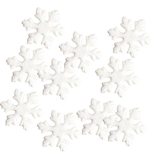 Schneeflocke Polystyrol Schaum Oraments Diy Handgemachte Materialien ()