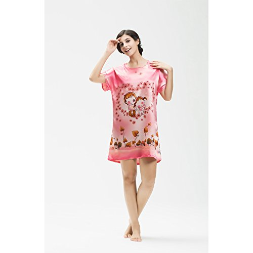 BOYANN Vestaglie e Kimono Fiore di Paisley Pigiami e Camicie da Notte Donna Modello 15