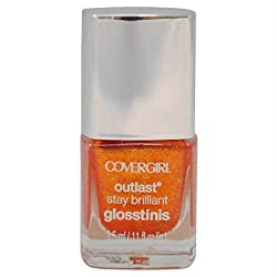 Covergirl Outlast Glosstinis Capitol Collection Nail Gloss 605 Flamed Out