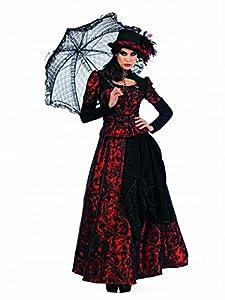 Limit Sport - Disfraz de gótica Roxaria para adultos, color rojo, talla XL (EA139)