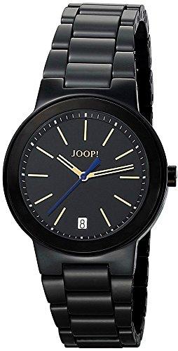 Joop - JP100882F03 - Sensation - Montre Femme - Quartz Analogique - Cadran Noir - Bracelet Céramique Noir