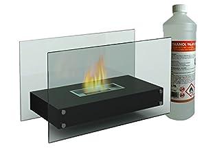 Dieser luxuriöse Tischkamin mit einer Breite ca. 70 cm (inkl. 1 Liter Bioethanol) bietet eine sichere und dekorative Idee für reine Gemütlichkeit in Ihrem Zuhause. Schaffen Sie mit diesem Bio Ethanol Kamin eine gemütliche, intime Atmosphäre in Ihrem ...