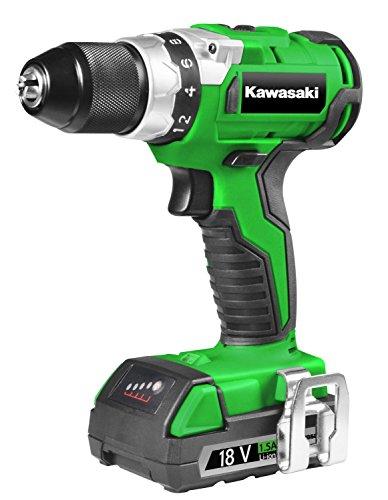 Kawasaki 603010245atornillador inalámbrico, 0W, 18V