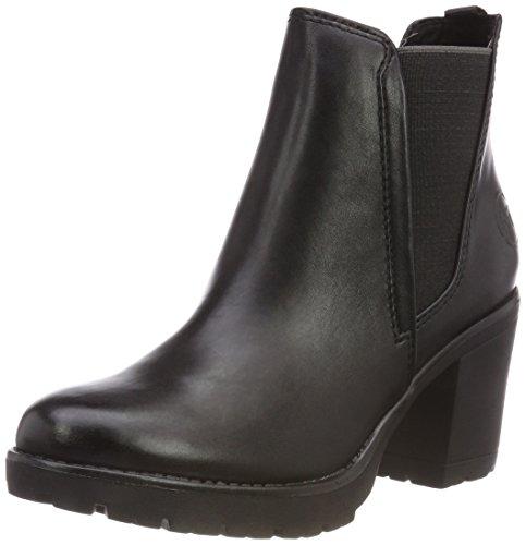 MARCO TOZZI Damen 25414-31 Chelsea Boots Schwarz (Black Antic 002) 37 EU