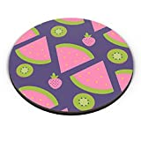 "PosterGuy Fridge Magnet - ""Watermelon Strawberry "" blue backgrond 