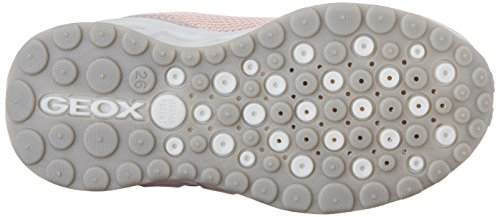 Geox J Shuttle A, Baskets Basses Fille Rose (C8005)