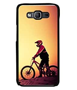 PrintVisa Sporty Cycle High Gloss Designer Back Case Cover for Samsung Galaxy On5 (2015) :: Samsung Galaxy On 5 (2015)