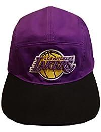 Puro 5 P CAP Lakers-Gorra, diseño de Lakers baloncesto para hombre morado