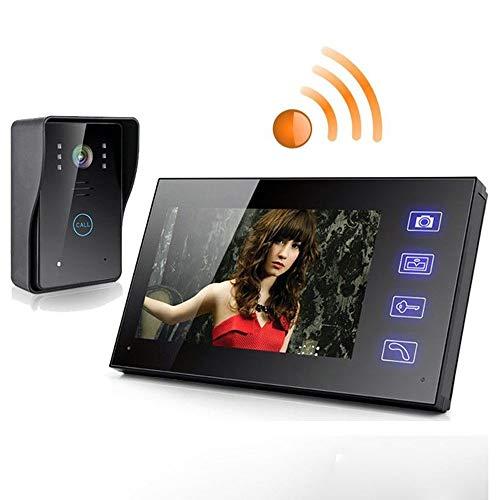 YUEC Video Wireless Video Türklingel Kit, WiFi Türklingel 2,4G 7