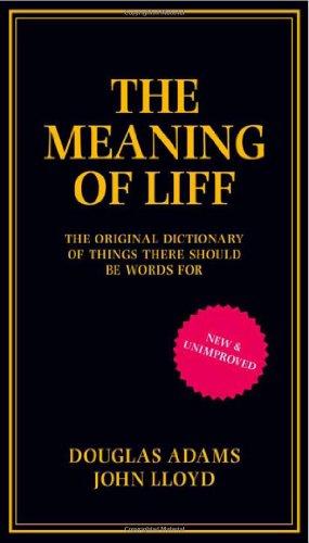 Buchseite und Rezensionen zu 'The Meaning of Liff' von Douglas Adams