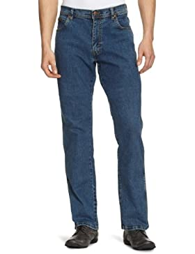 Wrangler Texas Stretch, Jeans Straight Uomo (Pacco da 7)
