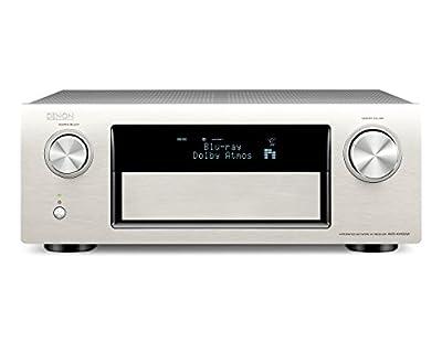 Ricevitore AV Denon AVR-X4100W 7.2 surround (WLAN, Spotify Connect, 4K, Denon Link HD, Dolby Atmos, Auro-3D ready, 3HDMI fuori, 200 watt), argento Premium ai migliori prezzi - Polaris Audio Hi Fi