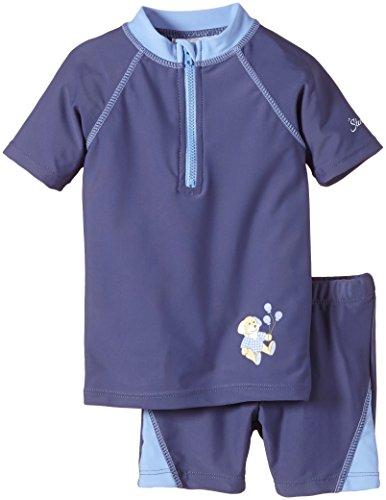 Sterntaler Jungen Badehose 2-TLG. Schwimmanzug Henri Blau (Tinte 383) 80 (Herstellergröße: 74/80)