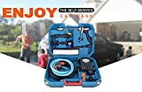 Tech Trendz Plastic 4 in 1 High Pressure Portable Car and Bike Washer