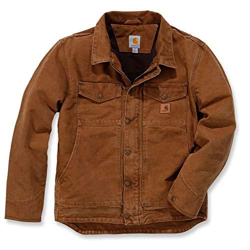 Carhartt 101230 Berwick Jacket - Arbeitsjacke, XL Carhartt Brown (Carhartt Arbeit Jeans)