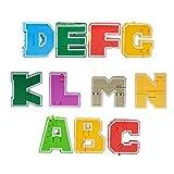 KESOTO 3 in 1 Letter Block Transfroming Robot Dinosauro Edificio Giocattolo Educativo per Bambini