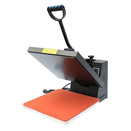 Homcom® Transferpresse Textilpresse T-Shirtpresse Textildruck Schwenkbar 38x38cm - 2