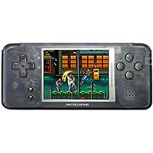 DroiX RetroGame RS-97 PRO Transparent [Version HW: V2.1] Mini Console de jeux portable jeux d'arcade rétro - Processeur Dual Core, 16 Go ROM
