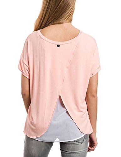 Timezone - Oversize T-shirt, T-Shirt Donna Orange (blush apricot 5062)