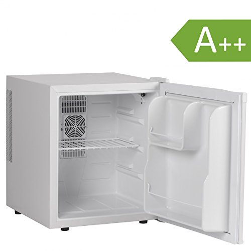 Amstyle Minikühlschrank 46 Liter Minibar Weiß freistehender Mini Kühlschrank Klein 5°-15°C Energieklasse A++ Tischkühlschrank ohne Gefrierfach für Getränke Zimmerkühlschrank 230V 46L Geräuscharm - Doppelte Tür-gelee