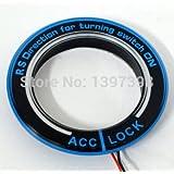 sypure (TM) para Ford Focus 2, Focus Kuga, Mondeo 3llave anillo LED iluminación decoración pegatinas para Ford AUTO accesorios