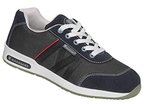 Maxguard Dustin D031, Chaussures de Sécurité Mixte Adulte, 35 EU Noir