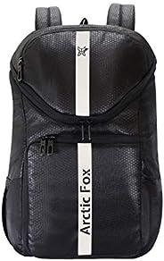 Arctic Fox Flash Jet Black DSLR Camera Lens,15.5 Inch Laptop Camera Backpack