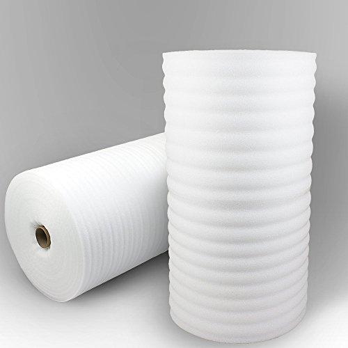 Trittschalldämmung PE-Schaumfolie Dämmung Unterlage Laminat Parkett Stärke:1mm (250m) thumbnail