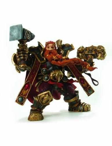 DC Comics - World Of Warcraft Figura De La Serie 6 De Enano Rey Magni Barbabronce Acción 1