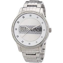 Just Cavalli Damen-Armbanduhr XL Huge Analog Edelstahl R7253127505