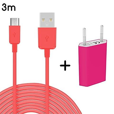 4–Câble + alimentation NOKIA 3m