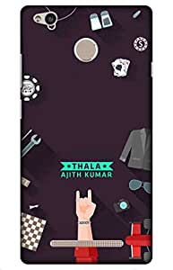 iessential thala Designer Printed Back Case Cover for Redmi 3S