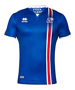 Iceland Kids Euro Home Shirt 2016-17