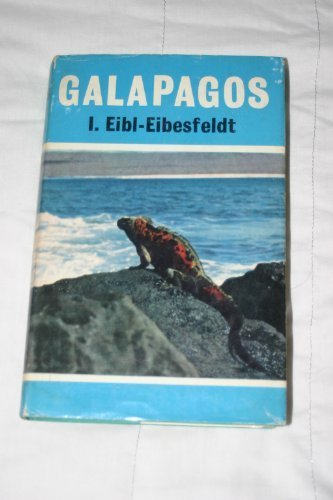 GALAPAGOS. TRANSLATED FROM THE GERMAN BY ALAN HOUGHTON BRODRICK