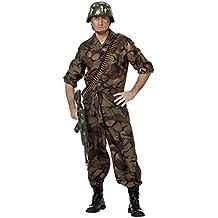 Stekarneval - Disfraz de soldado para hombre, talla 52 (510452)