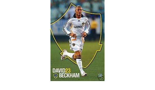MLS David Beckham Poster La Galaxy 23 Rare Hot 24x36