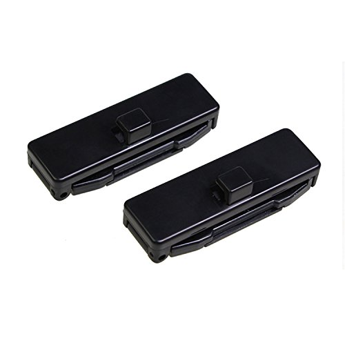 Raiphy Clip de Cinturón de Seguridad Coche Cinturón de Seguridad Hebillas Seguridad ajuste Clips (Negro)