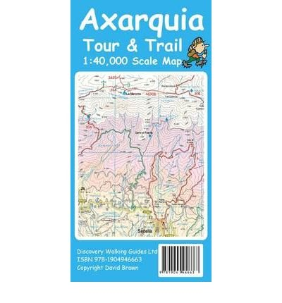 [(Axarquia (Costa Del Sol) Tour & Trail Map)] [ By (author) David Brawn, Edited by David Brawn, Illustrated by David Brawn ] [September, 2010] por David Brawn