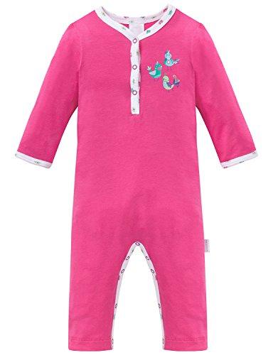 Schiesser Baby-Mädchen Zweiteiliger Schlafanzug Anzug Ohne Fuß, Rot (Pink 504), 86