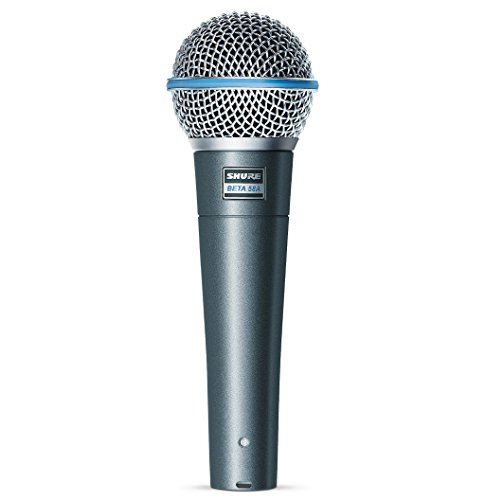 Shure Beta 58A - Micrófono (neodimio, 51 Db, 50 - 16000 Hz), color negro