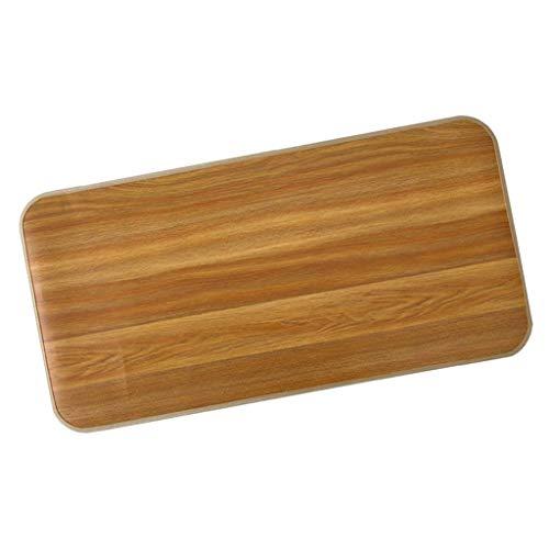 Baoblaze Rutschfester Bodenmatte Badvorleger Waschbar Duschvorleger Badteppich für Badezimmer Oder Küche - Braun L