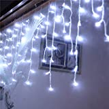Best DC Wedding Cake Toppers - TAOtTAO LED Window Curtain Icicle String Fairy Lights Review