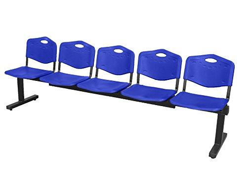 Piqueras Y Crespo (PIQU7) Bancada Albatana Color Azul Sillas de Oficina, Talla...