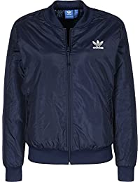 adidas Originals Blue Geology Supersta Bomber Jacket
