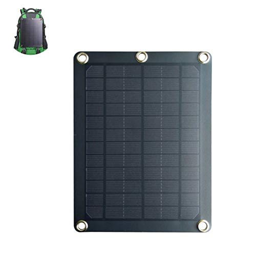 Glomab Solarpanel, Solar Charger Mobile Ladetafel Rucksack Solar Ladetafel Outdoor Solar Power Bank für Camping Outdoor Aktivitäten Gps-home Charger