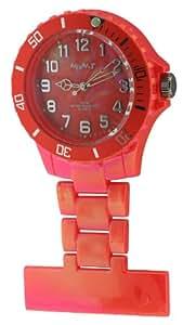 Neon T - NE24/D - Montre Mixte - Quartz Analogique - Bracelet Plastique Orange