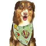 Hectwya Lustige Pet Bandanas Schal Vintage Sea Life Classic Pet Bandana Hundehalsbänder für Hund Katze eine Größe