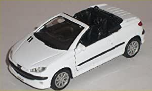 Peugeot 206cc 206 Cc Cabrio Weiss White Ca 1 43 1 36 Scale 1 18 Welly Modell Auto Modell Auto Spielzeug