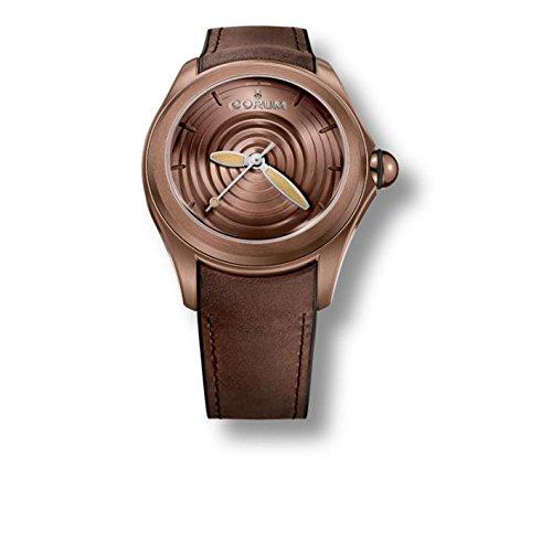 Corum orologio da uomo Heritage marrone cinturino in pelle automatico 082.311.98/0062OP01R